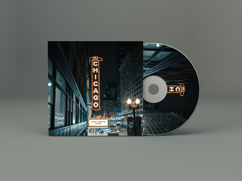 Down in Chicago Album Artwork photography graphic design design album album cover album art