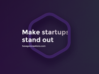 Make startups stand out!