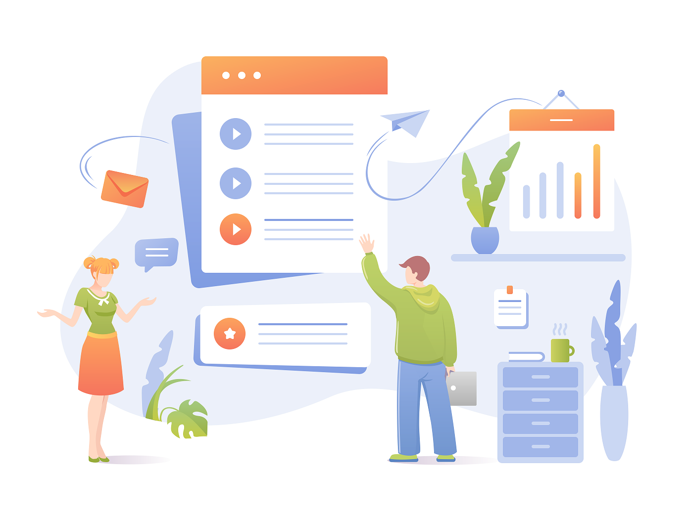 teamwork office documents collaboration people vector colors characters face clothes avatar woman icon ui paper design sketch emotion drawing character illustration