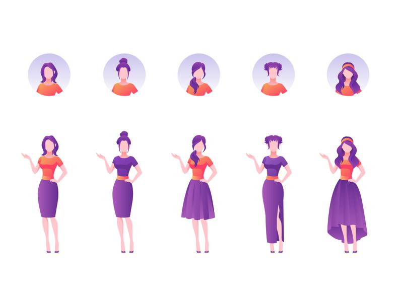 Vector Illustration People