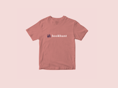 🎃bookhunt - tshirt graphic design tshirt minimal illustration icon givaway vector typography typo design logo