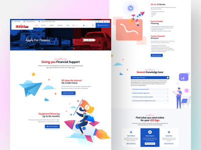 Business Consulting & Financial Advisory Landing Page agency landing page agency website wordrpess service corporate minimal advisory consulting website finance business 2d branding landing page flat landing design web ux typography ui