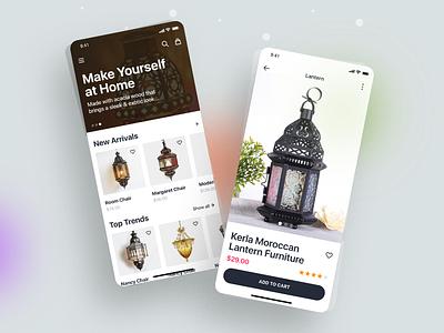 eCommerce - Mobile App vector shopping app minimal interface ux ui flat typography ecommerce app ecommerce design concept color clean branding art animation app