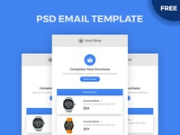 Free PSD Email Template