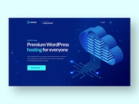Hosting Company Landing Page