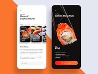Restaurant App UI Exploration