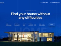 Realestate landing page exploration preview