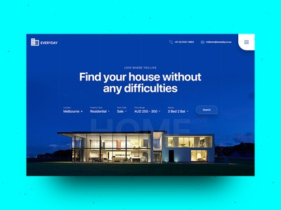 Real Estate & Property Management Landing Page