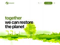Environmental landing page