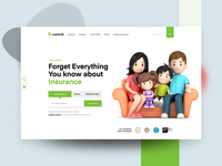 Life Insurance Agency Landing Page