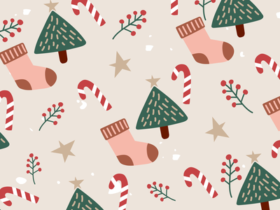 Weekly Pattern #025 winter christmas graphicdesign design illustration abstract pattern
