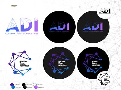 ADI logo vector minimal branding design logo