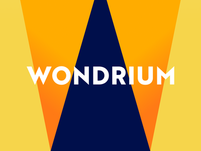 Wondrium logotype case study w monogram visual identity logo mark messaging tagline logo identity design branding agency branding brand identity wondrium