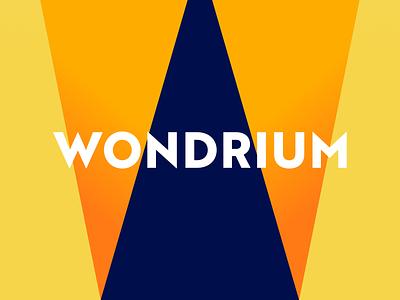 Wondrium logotype case study w monogram visual identity logo mark messaging tagline logo identity design branding agency branding brand identity wondrium