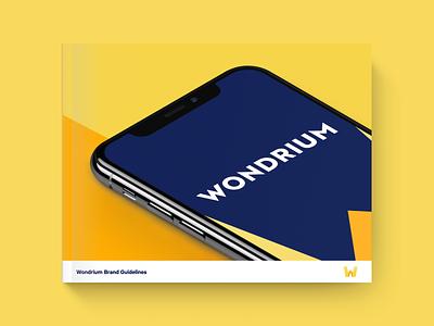 Wondrium Brand Guidelines palette colors wondrium identity logo brand guidelines brand guide brand branding