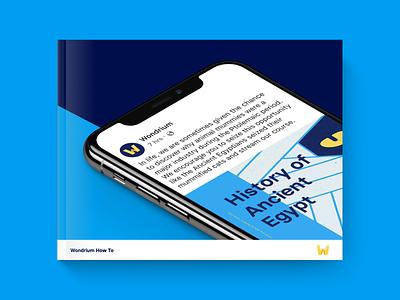 Wondrium How To Guide how to guide wondrium copywriting tone voice brand strategy brand branding