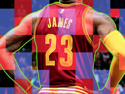Lebron James By Elliott Munoz For Viget On Dribbble