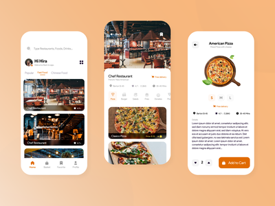 Food App Delivery delivery food minimal product interface experience app ux ui design