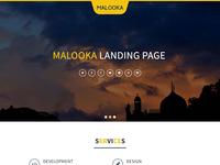 Malooka - Landing Page