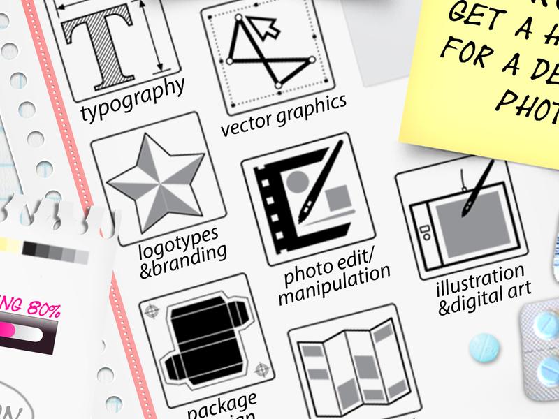 CV resume Bonerdog creative custom personal design cv resume cv design