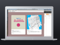 Hello Dribbble First Shot (but not really)