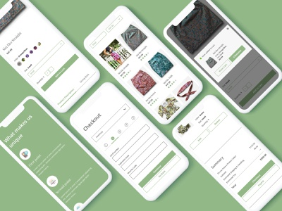 Afrinotes - Mobile nonprofit africa mobile checkout ecommerce ux ui design user interface user experience