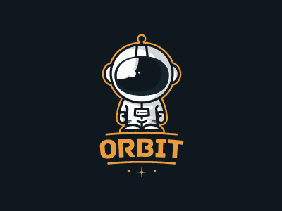 Contest proposal for orbit by moln r tam s dribbble for Logos space torino
