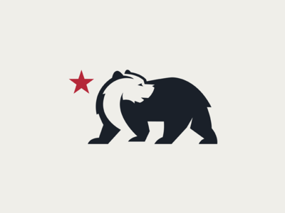 bear logo for a brewery based in california by moln r tam s dribbble rh dribbble com