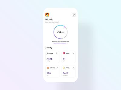 Medical App discover mobile app mobile figma medical app medical 100daysofui ui design dailyui