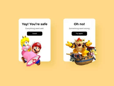 Daily UI 11 | Flash Message mario bros mariobros mario flash messages flash message ui daily ui dailyuichallenge dailyui daily 100 challenge