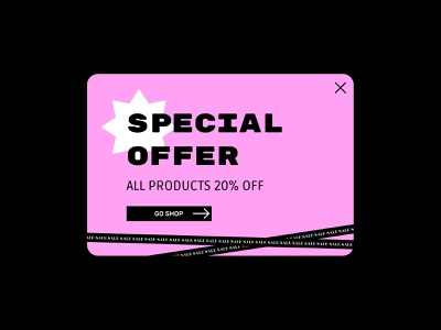 Daily UI 36 | Special Offer discount sales sale special offer offer ui daily ui dailyui dailyuichallenge daily 100 challenge
