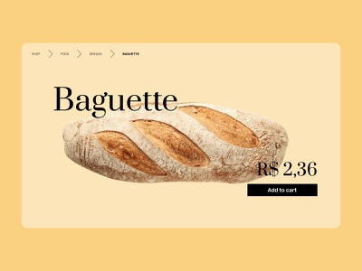 Daily UI 56 | Breadcrumbs food shop dailyui056 daily ui 056 breadcrumbs bread ui daily ui dailyuichallenge dailyui daily 100 challenge