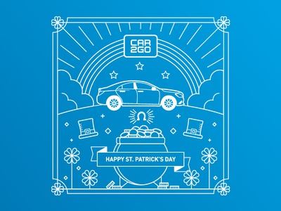 car2go St. Patrick's Day