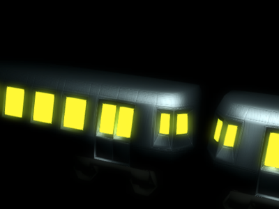 Subway Noir webgl