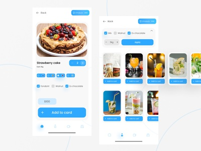 Cake and Drink store Mobile Ui kit   Cadrink ui uidesign shop app drink app cake and drink app cadrink drink cake design free mobile ui kit shop kit mobile kit mobile ui kit drink store cake shop free ui kit store kit cake kitt kit ui kit