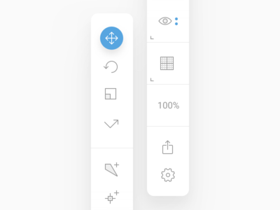 New Toolbar Icons in Nima