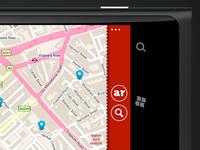 Red App Bar