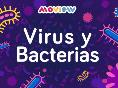 Virus & Bacteria virus bacteria moview mexico adobe flat aftereffects illustrator illustration design animation animación