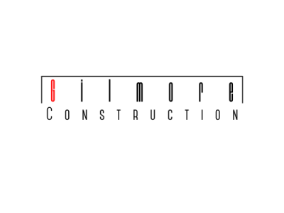 GIlmore Construction minimal logo icon design branding