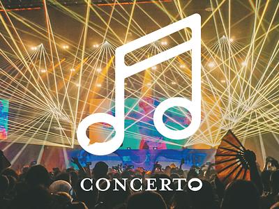 Concerto logo design design logo graphic