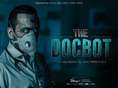 THE DOCBOT mask medical surgery doctor death blood artist photoshop fantasy art digital imaging digitalart design