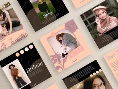 Instagram Feed Templates profesional commission open art photoshop design template instagram post instagram