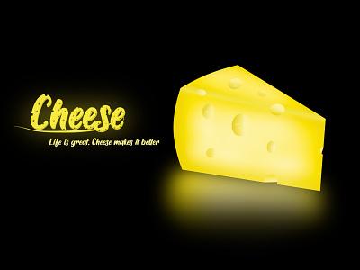 Say Cheeseeeeeee artwork art adobe illustraion cake cheese