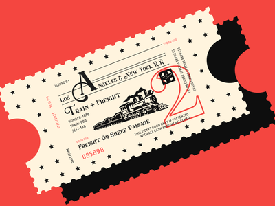 Fantasy Train Ticket graphic art train ticket design disney disneyland ticket design train ticket illustrator graphic graphicdesign graphic design flat icon typography vector logo illustration branding design ux ui