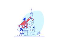 Christmas illustration #5