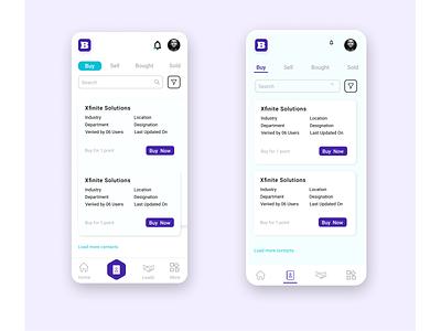 Business Platform ui design