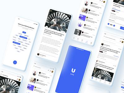 Unify blog fund raising donation social app enterpreneur