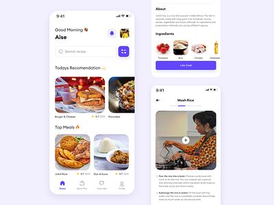 Food recipie app cook recipie meal food
