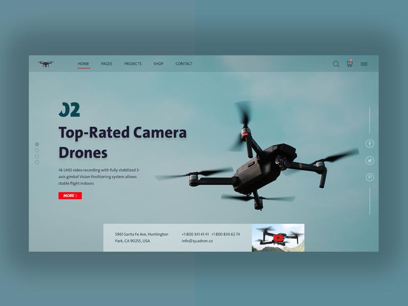 DRONES webdesign mobile ui logo mobile app design ui arbic xd monto