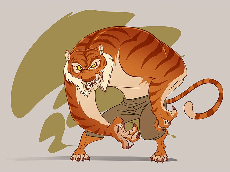 Tiger tiger characterdesignchallenge game characters game toon cartoon comic cartoon drawing draw character design character creation illustration animation design art